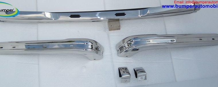 BMW E21 bumper (1975 – 1983) by stainless steel 2