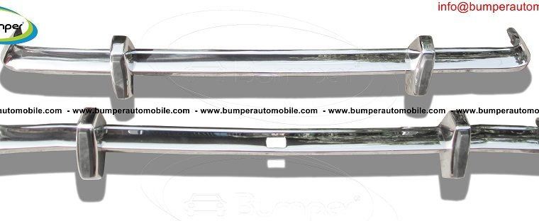 Ford Cortina MK2 bumper (1966-1970) by stainless steel 2
