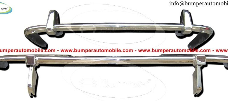 Jaguar XJ6 Series 2 bumper (1973-1979) by stainless steel