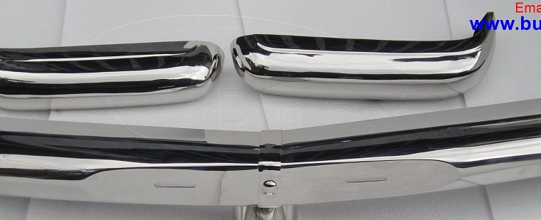 Mercedes Pagode W113 bumper (1963 -1971) by stainless steel