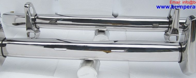 Mercedes Ponton 220S W180 bumper (1954-1960) by stainless steel