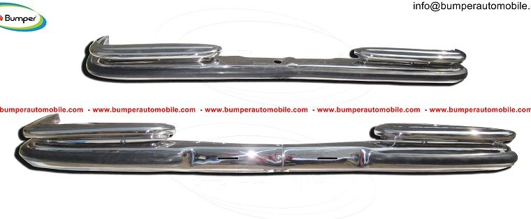 Mercedes W108W109 bumper (1965-1973) by stainless steel