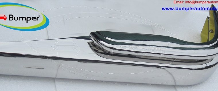 Mercedes W111 Sedan bumper (1959-1968) by stainless steel