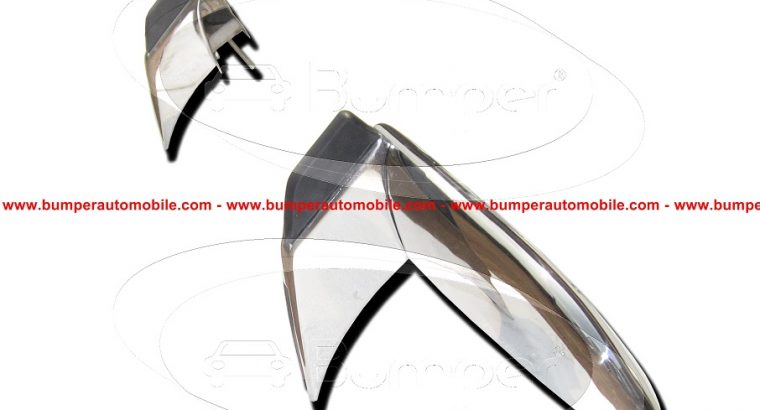 Opel GT bumper in stainless steel 3