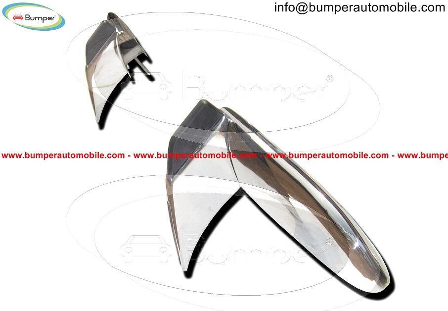 Opel GT bumper in stainless steel 3