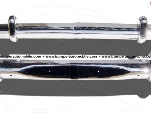 Opel Rekord P2 bumper (1960-1963) in stainless steel