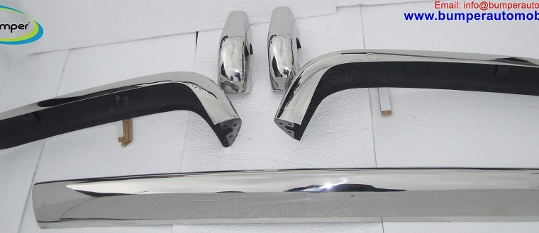 Rolls Royce Silver Shadow bumper in stainless steel