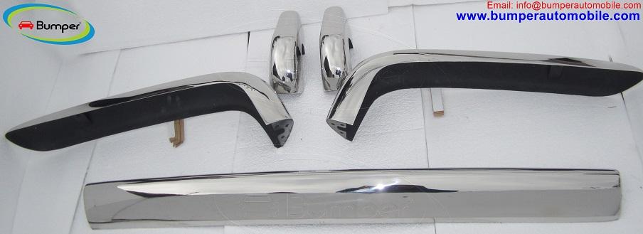 Rolls Royce Silver Shadow bumper in stainless steel