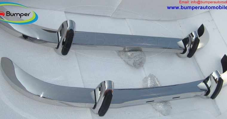 Saab 96 Longnose bumper ( 1965 – 1970 ) by stainless steel