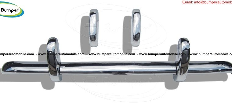Triumph TR3A bumper (1957–1962) in stainless steel