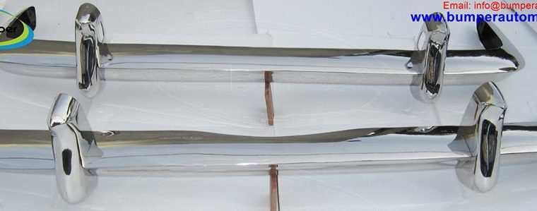 VW Karmann Ghia Type 34 bumper (1962-1969) in stainless steel