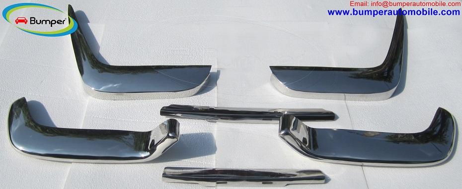 Volvo P1800 Jensen Cow Horn bumpers