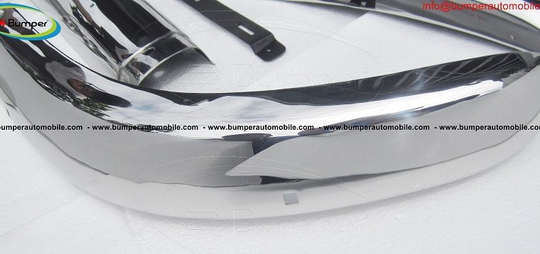 Volvo PV 544 Euro bumper (1958-1965) stainless steel