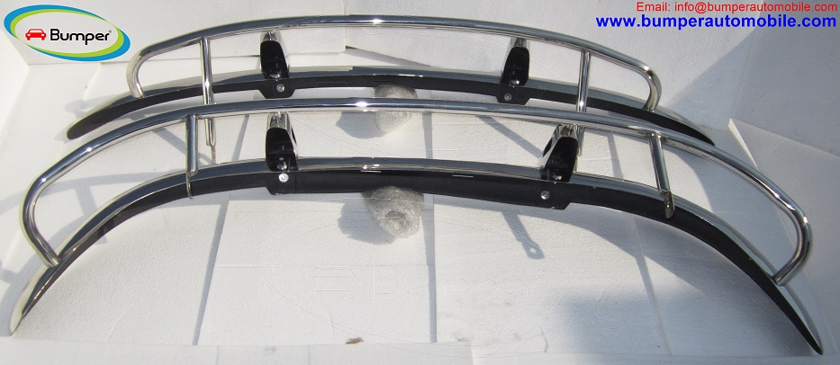 Volvo PV 544 US type bumper in stainless steel 3
