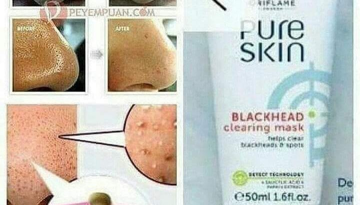 PURE SKIN Blackheads clearing mask