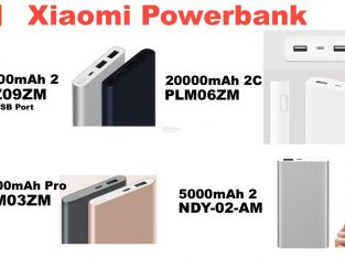 MI Branded Power Banks Gen 2