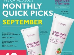 Oriflame Essentials Fairness Multi-Benefit Gel Wash