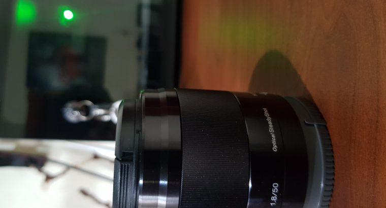 Sony E50mm F1.8 Emount lens