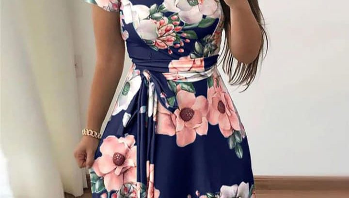 Floral Print Frock