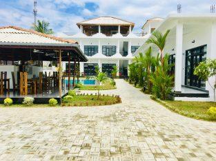 Brand new tourist hotel for sale in Arugambay Pottuvil