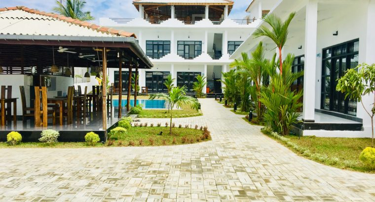 Brand new tourist hotel for sale in Arugambay Pottuvil