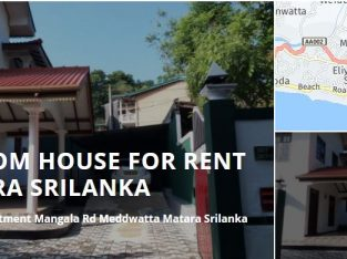 HOUSE FOR RENT IN MATARA SRILANKA
