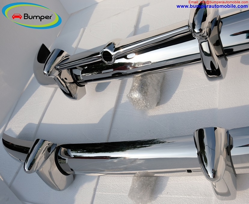 Volvo PV 444 bumper kit (1950-1953) by stainless steel