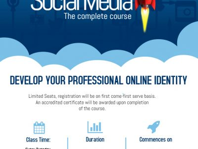 Social Media – The Complete course