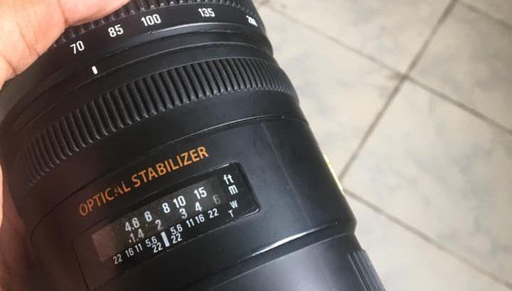Sigma 70-200mm F2.8 L Lens