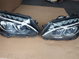 MERCEDES BENZ W205 C63AMG 2018 HEADLAMP LEFT & RIGHT