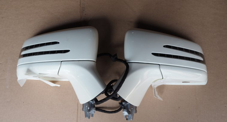 MERCEDES BENZ W218 CLS400 SIDE MIRRORS RIGHT & LEFT