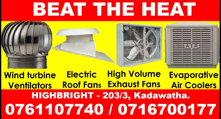 roof extractors srilanka , exhaust fans srilanka , air coolers , roof exhaust fans srilanka