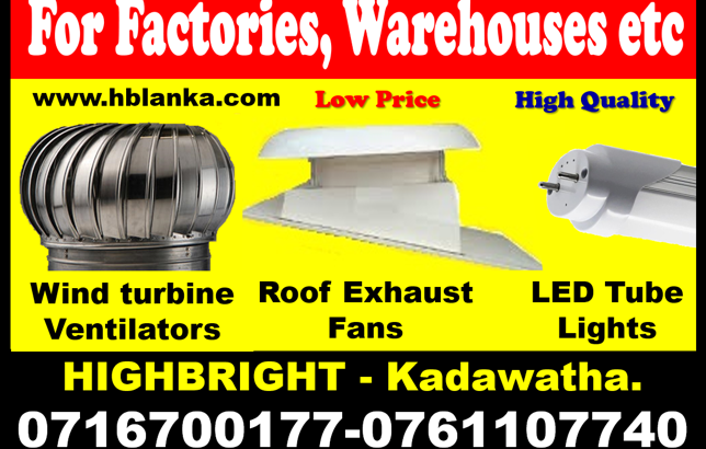 roof exhaust fan sri lanka, roof extractors tube lights , Exhaust fans srilanka wind turbine ventilators,