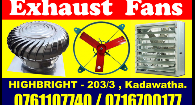 roof exhaust fans sri lanka , roof extractors srilanka , Exhaust fans srilanka , wind turbine ventilators , LED tubes Lights