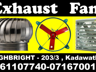 Hot air Exhaust fans srilanka