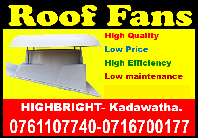 roof exhaust fans , exhaust fans srilanka, ventilation systems, wall fans, roof extractors srilanka