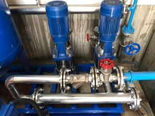 Pressure Pumps with Service (Domestic/Industrial)