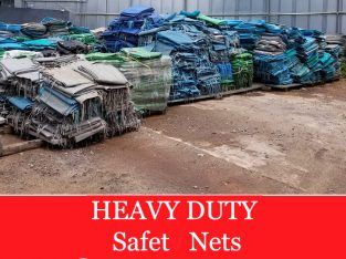 Heavy Duty Safety nets for Rent/ Sale. Please Call for Price.