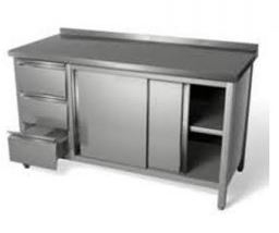 Stainless Steel Fabricated Furniture