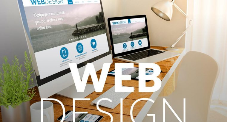 Web design, maintenance, SEO and social media promotion