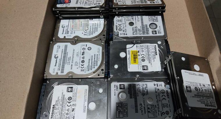 Tested Laptop 500 GB Slim Hard Disk
