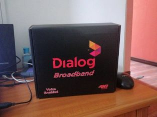 Dialog 4G Router New
