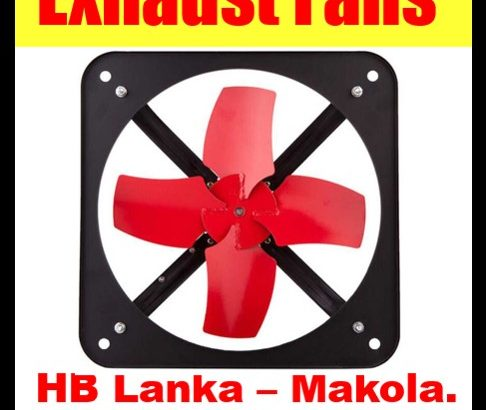 Exhaust fans srilanka , wall exhaust fans, exhaust fans for factories, warehouses