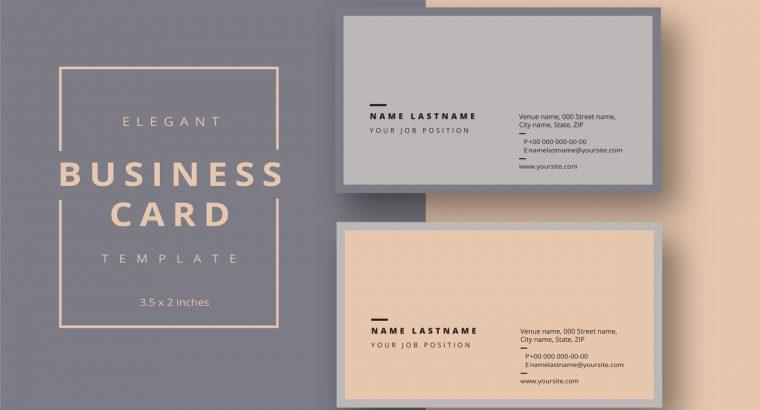 Business card preparation