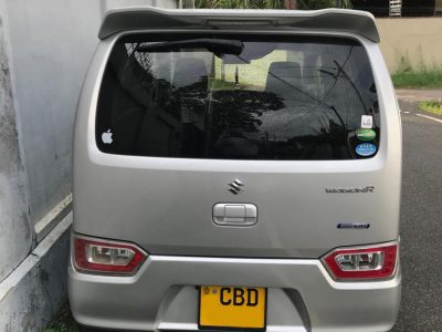 Suzuki Wagon R FX 2017 Car Registered (Used)