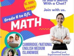 Maths Online – Gr 6 to O/L
