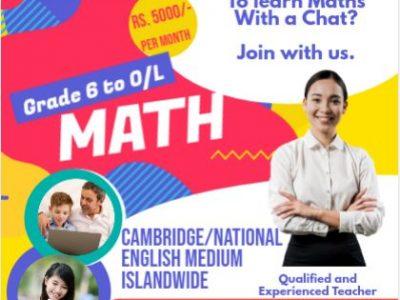 Maths Online – Gr 6 to O/L