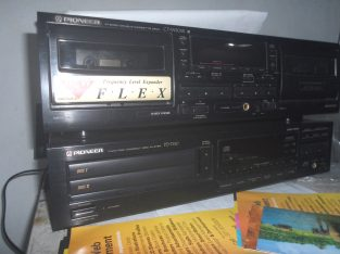 Pioneer Double Cassette Deckv