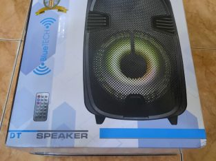 Blue tech brand SPEAKER
