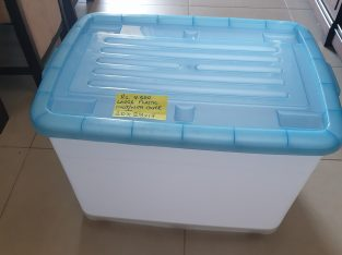plastic storage container